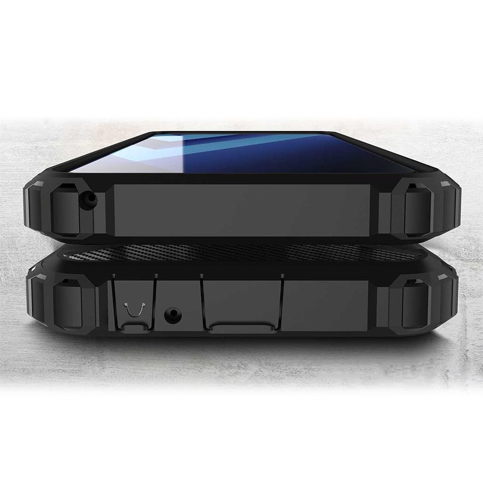 watch 96694 98c87 Black Military Defender Tough Case - Samsung Galaxy A8+ (2018)